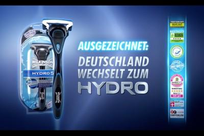 """TVC: Wilkinson HYDRO """"Deutschland wechselt zum HYDRO Promotion"""""""
