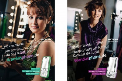 """Kampagne: Nokia """"Supernova"""""""