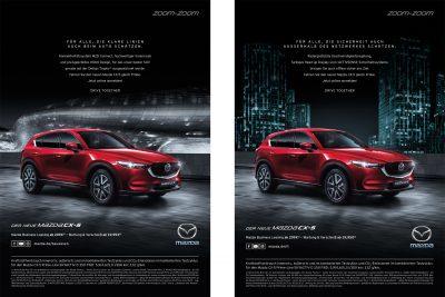 """Anzeige: Mazda """"Flotte"""""""