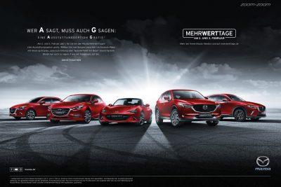 """Anzeige: Mazda """"MehrWertTage"""""""